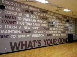 Using Wall Graphics And Murals In Your Corporate Fitness Center Gym Interior Gym Design Fitness Center Design