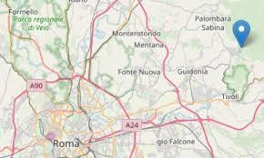 Scossa di terremoto a Roma: M 3.2, avvertita dallla popolazione ...