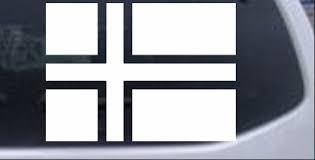 Norway Flag Car Or Truck Window Decal Sticker Rad Dezigns