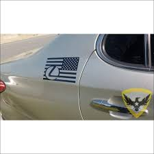 Mac Tactical Decals Lexus American Flag Decal