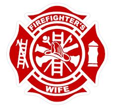 Firefighter Wife T27 Maltese Cross 4 Vinyl Decal Sticker Car Window Ebay
