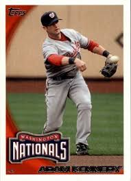 Amazon.com: 2010 Topps Update #US289 Adam Kennedy MLB Baseball Trading  Card: Collectibles & Fine Art