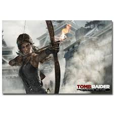 Tomb Raider Lara Croft Game Art Silk Poster 24x36inch 24x43inch 0546 Buy Decals Buy Wall Decal From Wangzhi Hao8 12 05 Dhgate Com