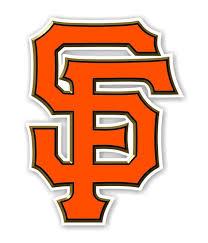 San Francisco Giants Sf Orange Decal Sticker Etsy