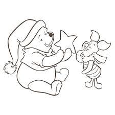 Kleurplaten Winnie De Poeh 20 Weihnachtsmalvorlagen Disney