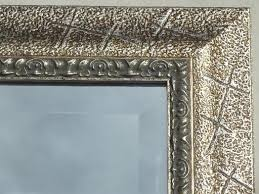 large beveled edge glass mirror