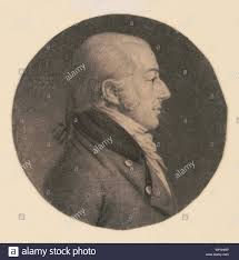 John Rhea Smith, head-and-shoulders portrait, right profile Stock ...