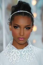 make up looks for darker skin tones