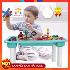Lego ❤️ Hộp Đồ Chơi Lego Cho Bé Lắp Ráp Xếp Hình Có Kèm Bàn Cao ...
