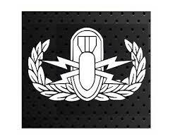 Basic Explosive Ordnance Disposal Eod Badge Vinyl Window Decal 3 20 Picclick