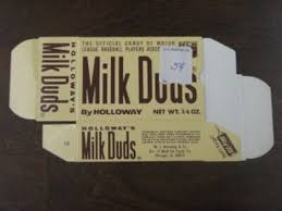 candy and cards 1971 milk duds offered