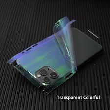 Buy New Transparent 3d Carbon Fiber Skins Film Wrap Skin Phone Back Sticker For Iphone Online