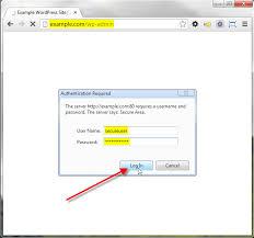 wordpress admin klasörünü ve login