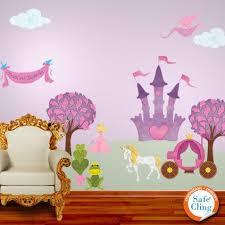 Perfectly Princess Wall Decal Sticker Kit Jumbo Set Princess Mural Wall Stickers Princess My Wonderful Walls