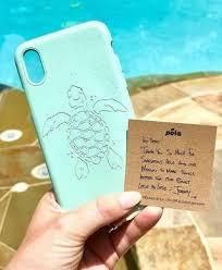 Ocean Turquoise (Turtle Edition) Eco-Friendly iPhone XR Case– Pela ...