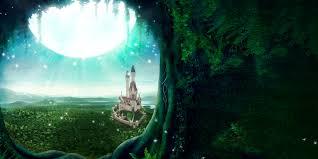 hd wallpaper magical castle