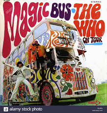 vintage vinyl record album - The Who's Magic Bus on Tour - 1967 ...