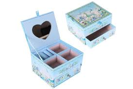 layer drawer box with mirror glass