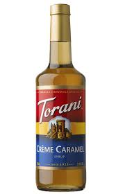 torani crème caramel torani grenadine