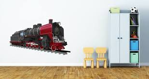 Steam Train Wall Decals Dezign With A Z