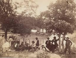 William Morris Smith   Camp of Captain Hoff, Rear View, Gettysburg,  Pennsylvania   The Met
