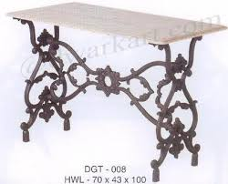 tripti cast iron garden table dwarka