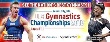 2019 u s gymnastics chionships head
