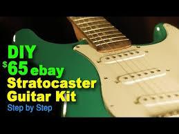 diy 65 stratocaster guitar kit