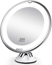 beautural 10x magnifying makeup mirror
