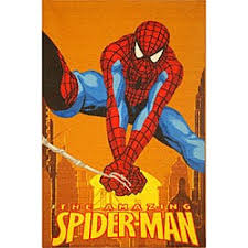 Shop Kid S Spider Man Area Rug 5 X 8 Overstock 4433784