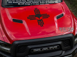 Zia Alien Roswell Ufo Area 51 New Mexico Nm State Flag Emblem Sticker Decal Auto Parts And Vehicles Car Truck Graphics Decals Magenta Cl