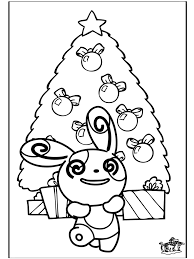 Kerst Pokemon Kleurplaten Kerst