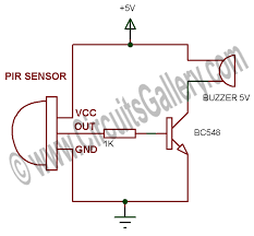 motion sensor alarm system