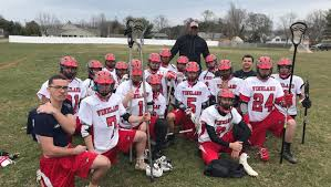 Vineland boys' lacrosse nets coach Clifton Smith his first win
