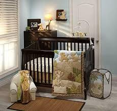 friend 4 piece nursery crib bedding set