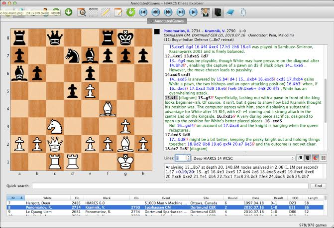 Chess Analysis
