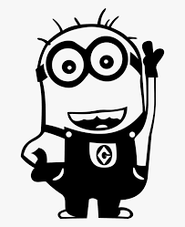 Minion Stickers Car Free Transparent Clipart Clipartkey