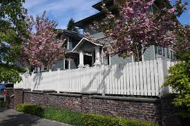 White Picket Fence Traditional Landscape Seattle By Kim Rooney Landscape Architecture