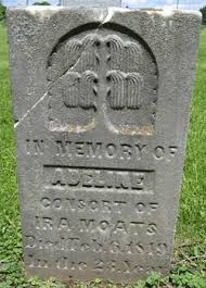 Adeline Reed Moats (1826-1849) - Find A Grave Memorial
