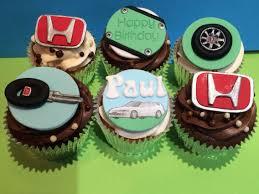Honda Car Cupcakes Car Cakes For Men Car Cake Cakes For Men