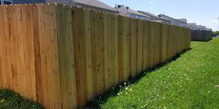 Indianapolis Cedar Fence Company Cedar Fence Installation Richmond Exteriors