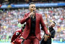 World Cup Performer Robbie Williams Made Quite a Statement | Time