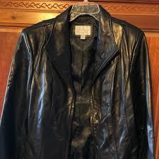 genuine lambskin leather coat