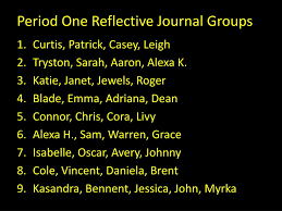 PPT - Reflective Journal Guidelines PowerPoint Presentation, free download  - ID:6338542