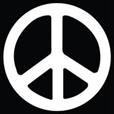 Peace Sign Vinyl Decal Sticker Texas Die Cuts