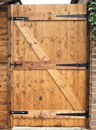 How To Build A Wooden Gate For Your Yard