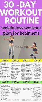 30 day fat burning workout routines for