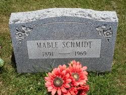 Mable Schmidt (1891-1969) - Find A Grave Memorial