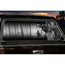 Early Fly Down Large Rear Truck Window Tint Deergear Com Legendarywhitetails Tinted Windows Rear Window Decals Tints