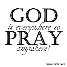 god is everywhere share faith